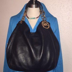 Michael Kors Fulton handbag black large